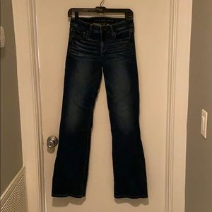American eagle super stretch jeans size 2 long